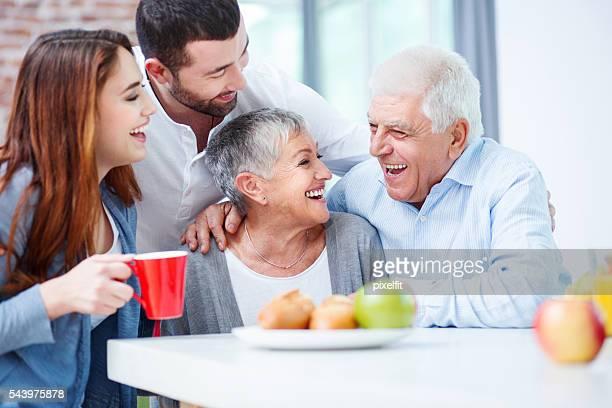 Felice Famiglia di due generazioni