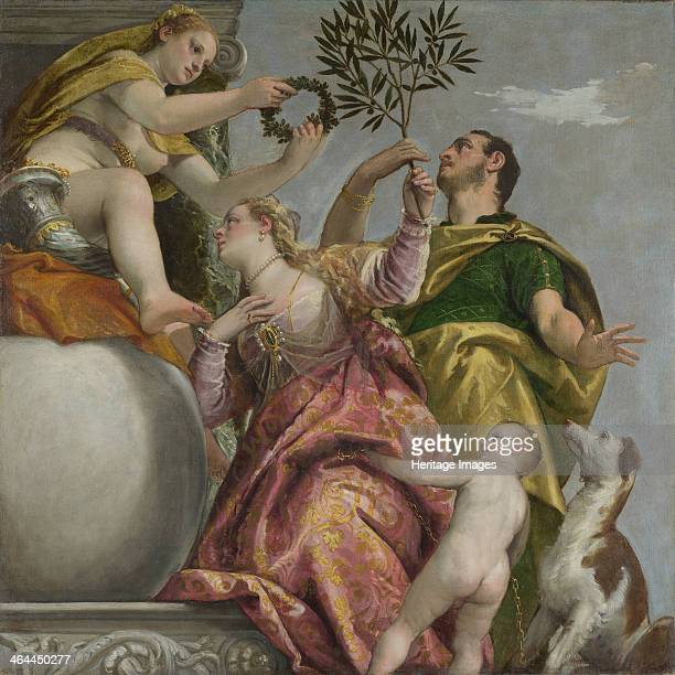 Four Allegories of Love ca 1575 Found in the collection of the National Gallery London