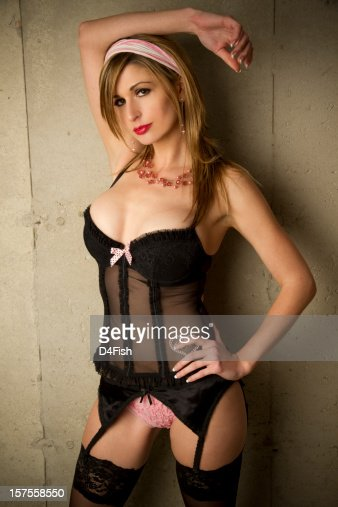 Stockings And Suspenders Stock Photos And Pictures Getty Images