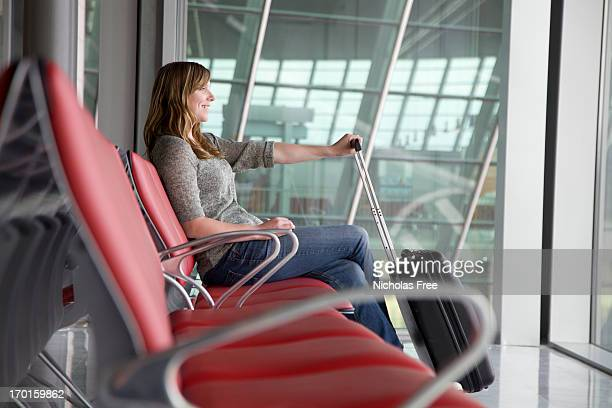 Heureux attente de départ