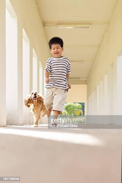 Happy weekend of boy and dog #9