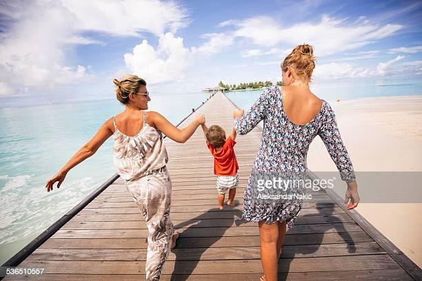 Mit meinem zwei Mütter