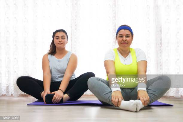 Happy Women ready to doing exercise