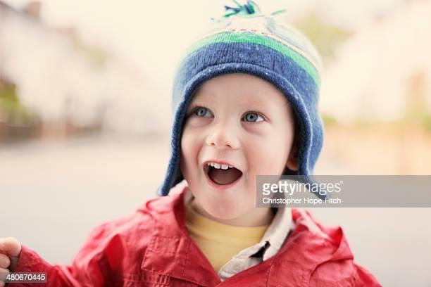 Happy young boy