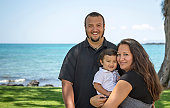Young island family shows how happy they are living in Hawaii.