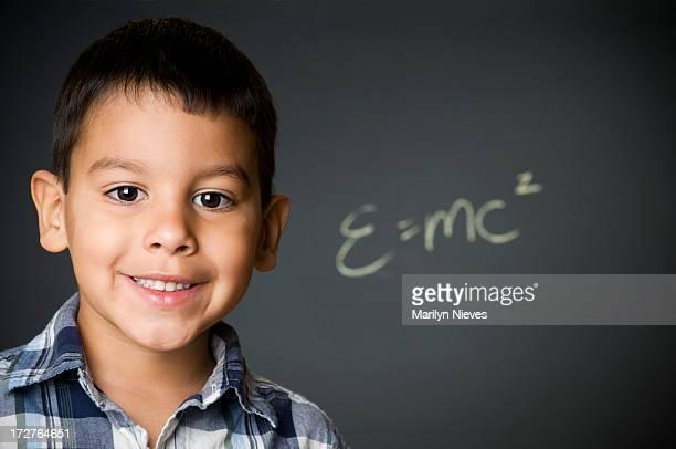 Glückliche junger student