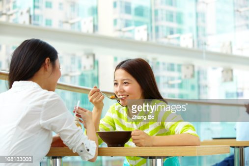 happy young women together : Stock Photo