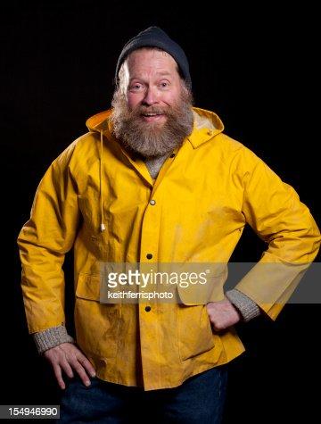 hapy fisherman