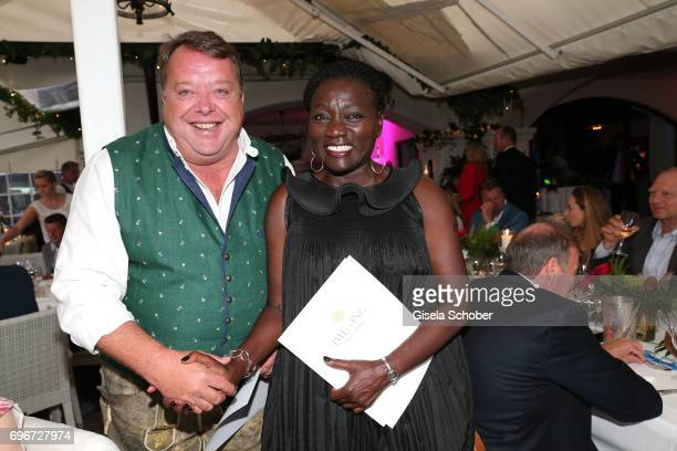 Harald 'Harry' Mueller PASCHA Cologne purchase by auction a dirndl and makes it Dr Auma Obama sister of Barack Obama as a present during the 2nd I'm...