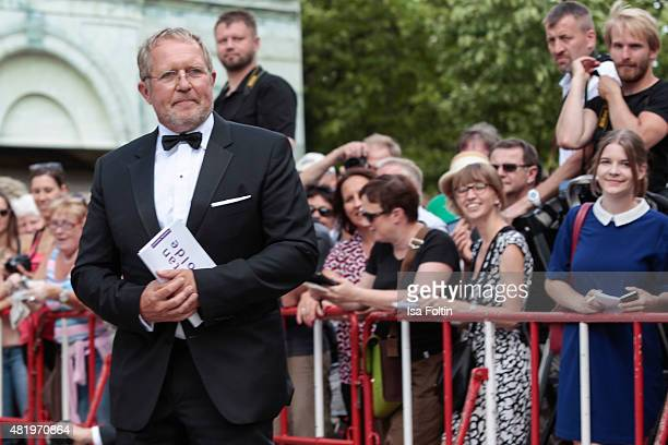 Harald Krassnitzer attends the Bayreuth Festival 2015 Opening on July 25 2015 in Bayreuth Germany