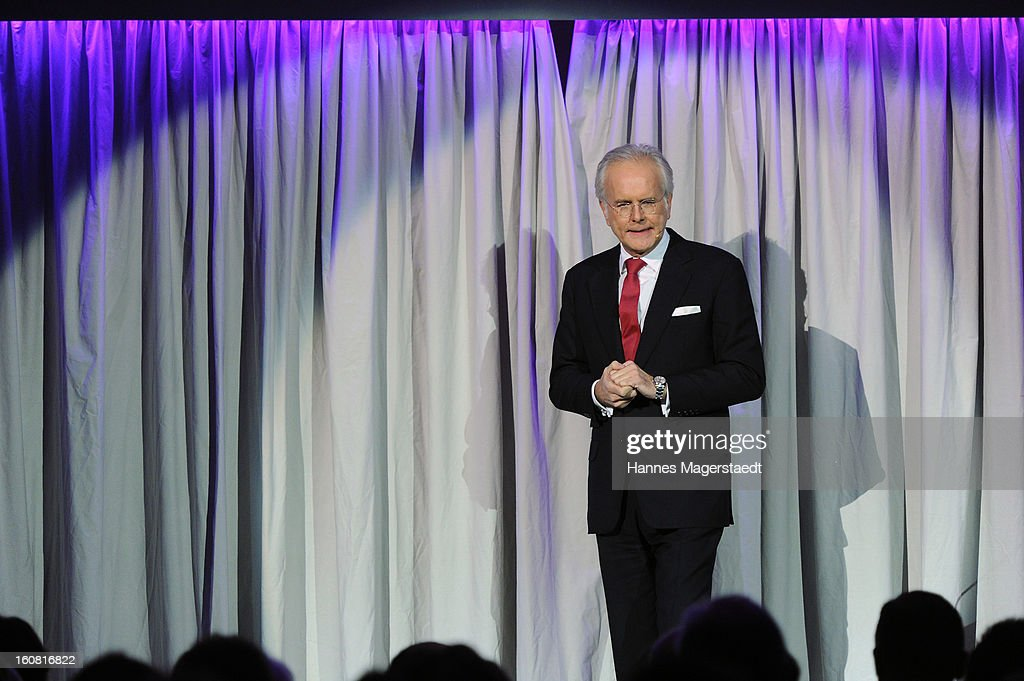 <a gi-track='captionPersonalityLinkClicked' href=/galleries/search?phrase=Harald+Schmidt&family=editorial&specificpeople=2131053 ng-click='$event.stopPropagation()'>Harald Schmidt</a> attends the Best Brands 2013 Gala at Bayerischer Hof on February 6, 2013 in Munich, Germany.