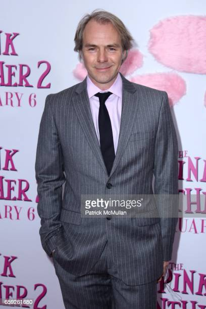 Harald Zwart attends COLUMBIA PICTURES and MGM Present the World Premiere of THE PINK PANTHER 2 at Ziegfeld Theatre on February 3 2009 in New York...