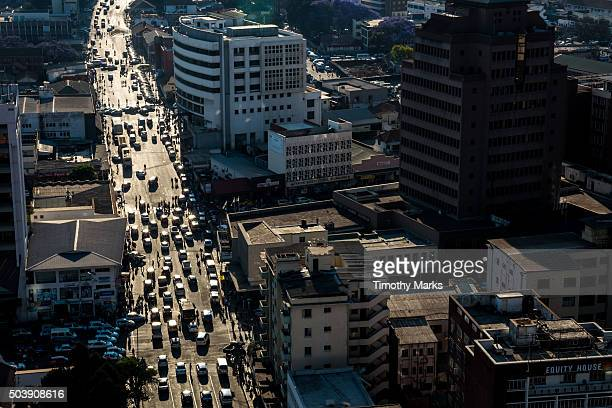 CBZ Harare, Afternoon Traffic, Jason Moyo Ave