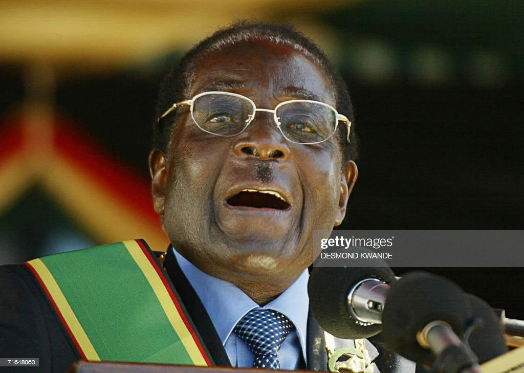 Zimbabwean President Rorbet Mugabe Attends Defence Forces Day