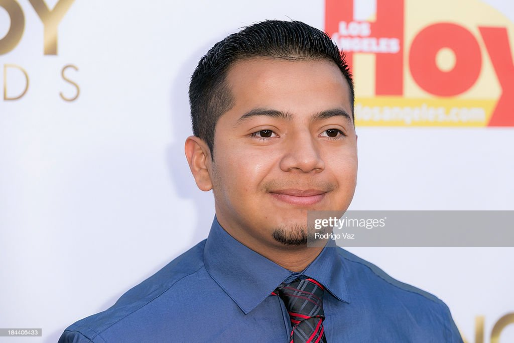 Harberth Godinez arrives at the 2013 Latinos De Hoy Awards at Los Angeles Times Chandler Auditorium on October 12, 2013 in Los Angeles, California.