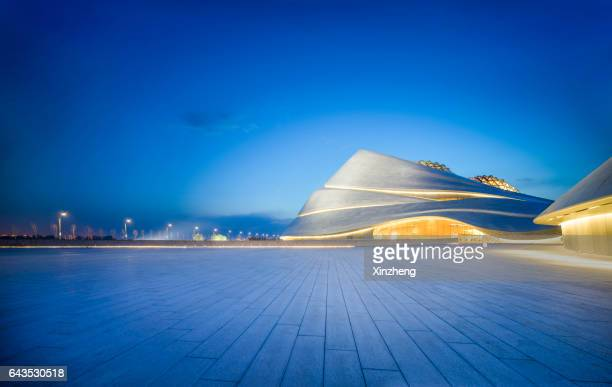 Harbin Opera House Square night view