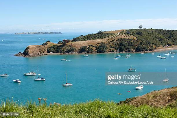 Harbor and boats Waiheke Island, Auckland, New Zealand