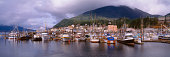 Harbor and down town area of Ketchikan, Alaska