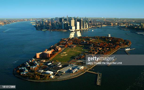 NY  Harbor and Governors Island