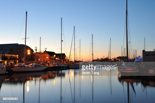 Harbor at Downtown Annapolis, Maryland, USA
