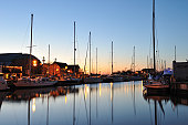 Harbor at Downtown Annapolis, Maryland, USA