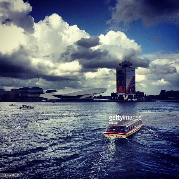 harbor in Amsterdam