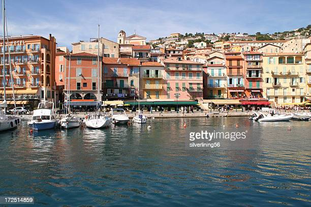 Harbor in Villefranche sur mer, France