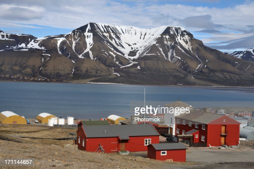 Harbor, Longyearbyen, Svalbard