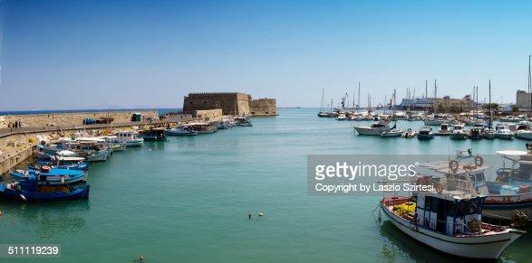 Harbor of Heraklion