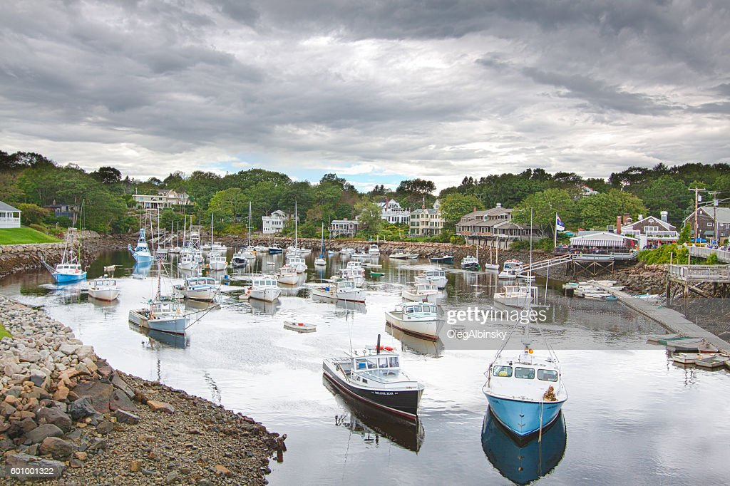 Harbor View Fishing Boats Rowboats And Hotels Perkins Cove Maine