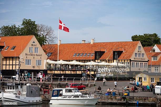 Harbour and Hotel Siemsens Gaard.