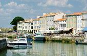 'Harbour at St Martin on the Ile De Re, France'