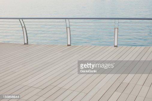 Harbour boardwalk