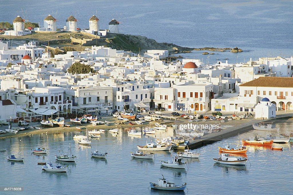 Harbour, Chora, Mikonos, Greece
