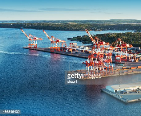 Harbour Container Port
