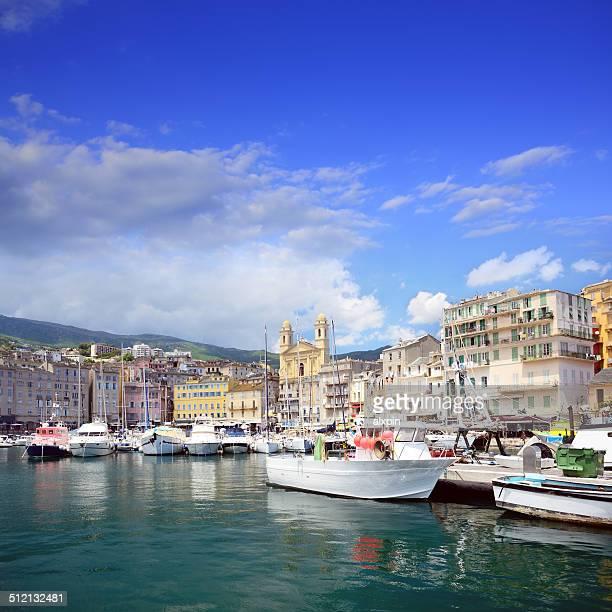 Harbour in Bastia