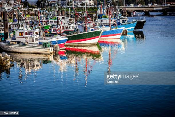 Harbour in Saint Jean de Luz. France