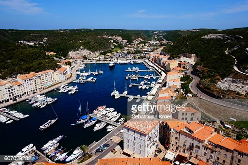 Harbour of Bonifacio, Boats, Yachts, Corsica, France