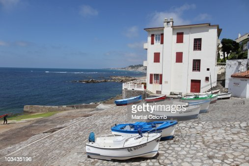 harbour of GUETARY : Stock Photo