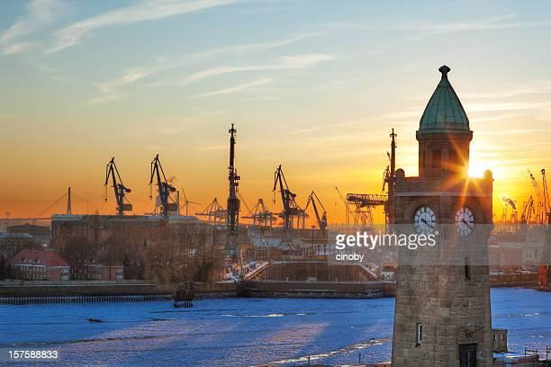 Puerto de Hamburgo (HDR