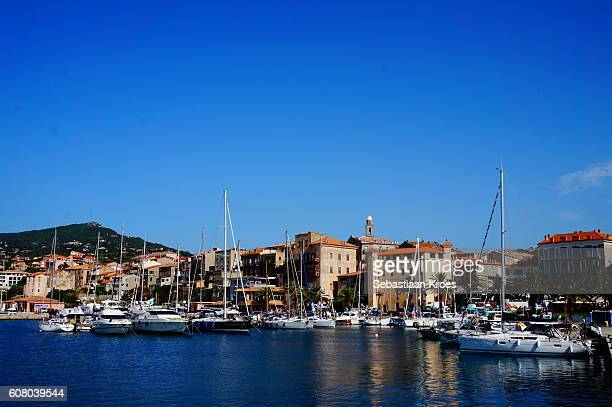 Harbour of Propriano, Reflections, Corsica, France