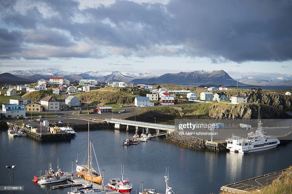 Harbour, Stykkisholmur, Snaefellsnes, Iceland
