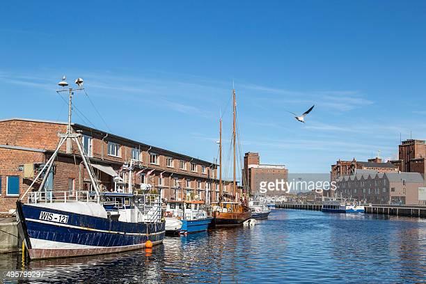 Harbour view, Wismar, Mecklenburg-Western Pomerania, Germany