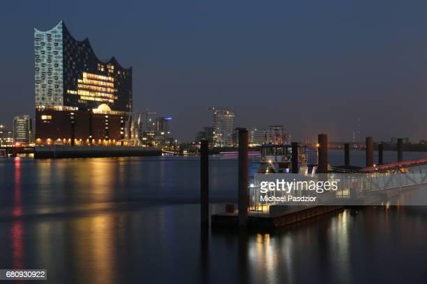 HarbourCity-skyline with Elbphilharmonie