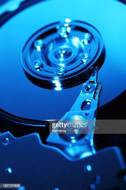 Hard Disc Drive Close Up