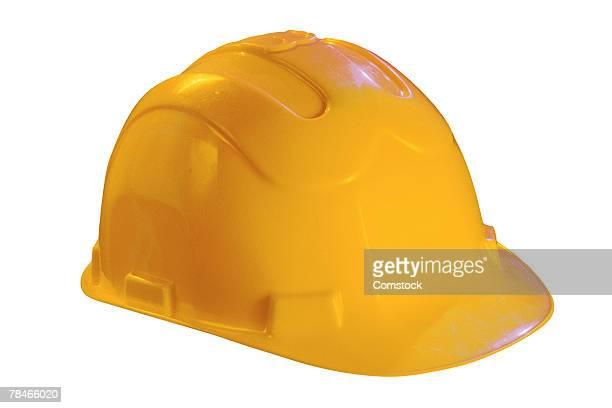 Hard hat symbolizes website under construction
