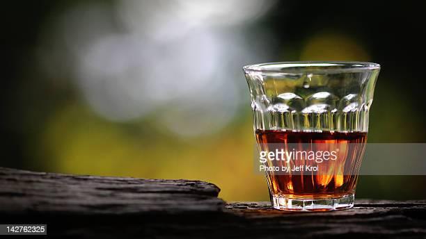 Hard liquor whiskey