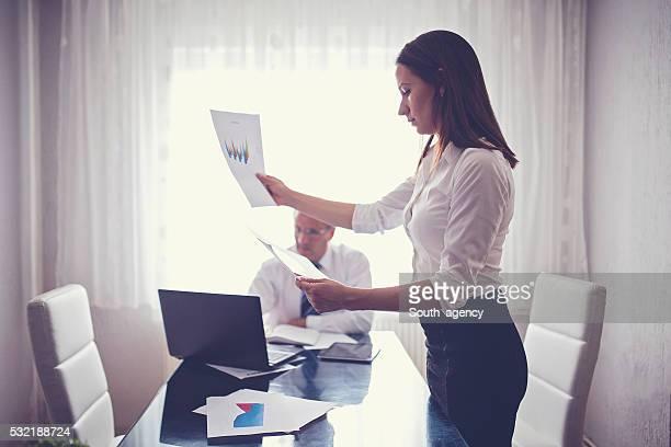 Hard office work