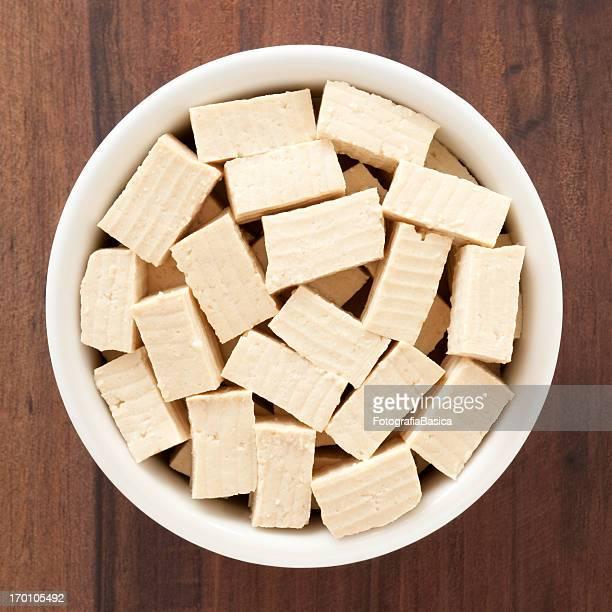 Hard tofu cubes
