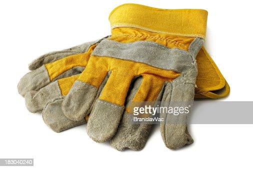 Hard work glove